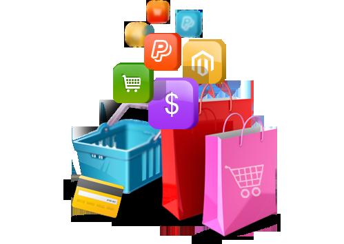 برمجة وتصميم مواقع السوق والتسوق الإلكتروني